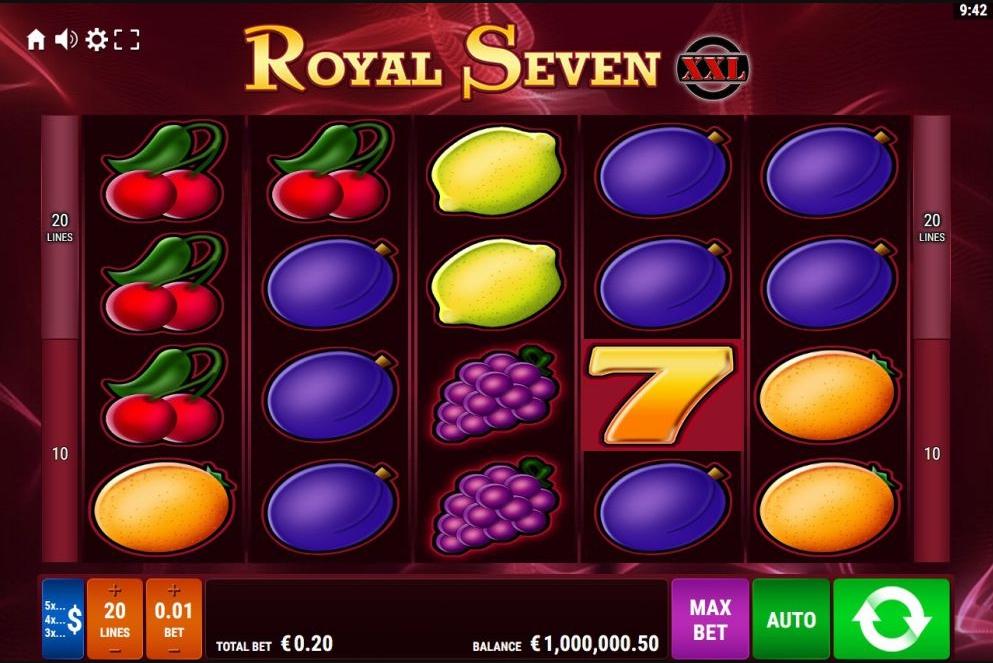 เกมสล็อต Royal Seven XXL