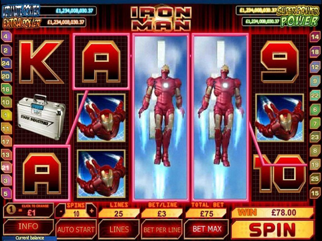 สล็อต IRON MAN 3