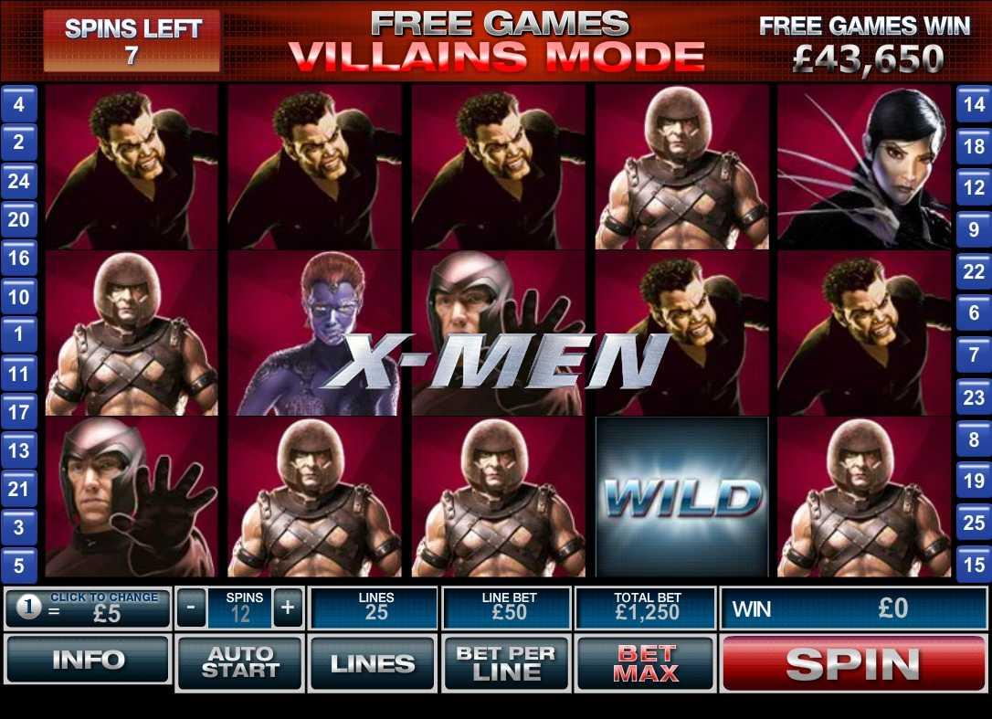 สล็อตออนไลน์ x-men slot online เกมสล็อตจากคอมมิคดังที่ใครๆ ก็รู้จัก