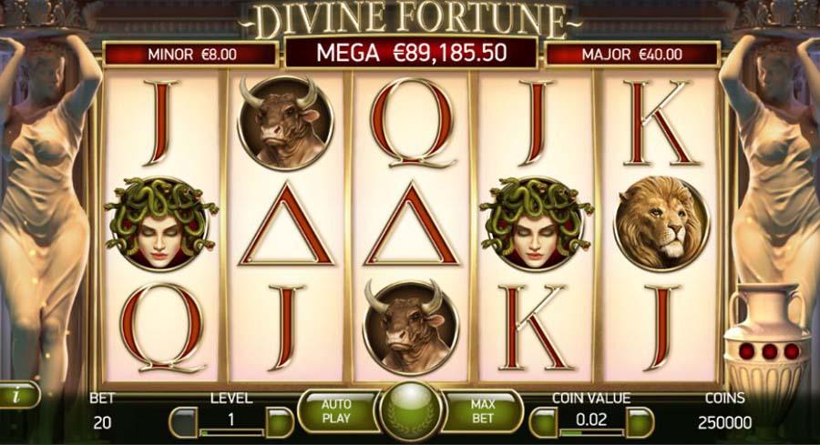 เกมสล็อตออนไลน์ Divine Fortune ปีศาจจากตำนานเทพนิยายปกรณัม