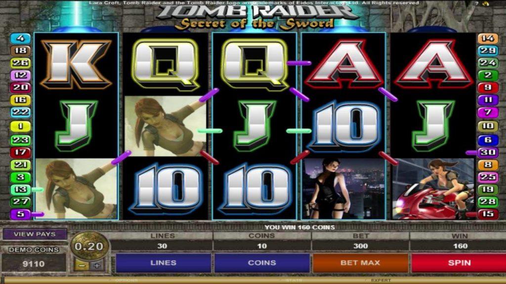 วิธีเล่น Tomb Raider