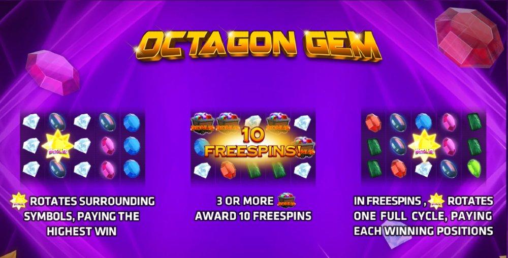 Octagon gem เกมสล็อตมือถือ ค่าย Joker Gaming